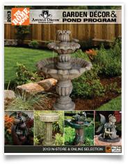 2013 home depot garden decor pond for Home depot fish pond